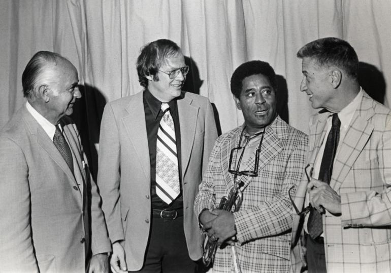 Sonny Burke, Pat, Dizzy Gillespie, John Hammond